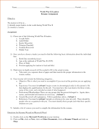 Proper Resume Format 11 Updated