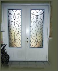 iron and glass front doors wrought iron and glass front entry doors