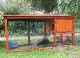 rabbit house plans. Outdoor Rabbit Hutch | Cages - Motorcycle Pictures House Plans