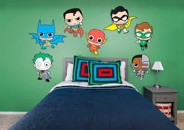 dc comics kids collection fathead wall decal