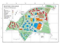 simmons college campus map. map of campus simmons college