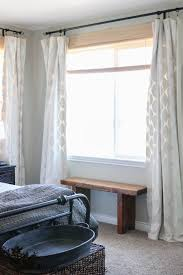 paint your own curtains full tutorial by the wood grain cottage
