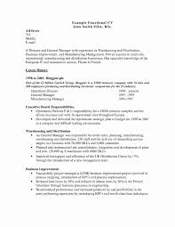 Resume Power Statement Examples Best Of Functional Resume Samples
