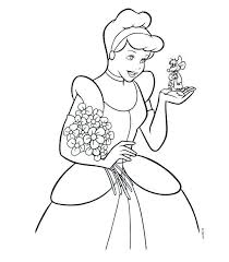 Cinderella Coloring Pages Or 19 New Cinderella Coloring Pages