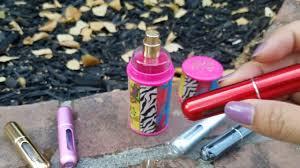 That Spade Girl Reviews: <b>Mini Refillable Perfume</b> Atomizer - YouTube