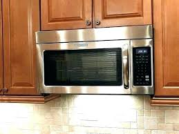 Cabinet Mounted Microwave Mount Under  Hanging Dimensions Under Cabinet Microwave Dimensions E46