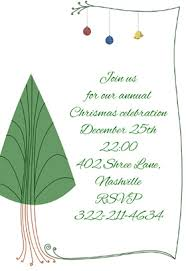 free printable christmas invitations templates free christmas invitation templates best template collection