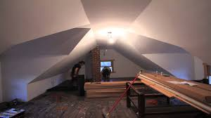 Attic wood floor install time lapse youtube attic wood floor install time  lapse marialoaizafo Image collections