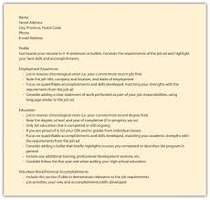 Best Resume Banks Canada Pictures Inspiration Entry Level Resume