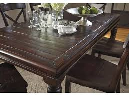 Signature Design By Ashley Gerlane Piece Solid Pine Dining Table - Solid wood dining room tables
