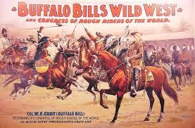 Bildresultat för wild west show buffalo bill