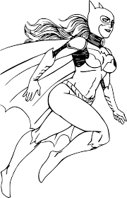 Luxe Coloriage Fille Super Heros