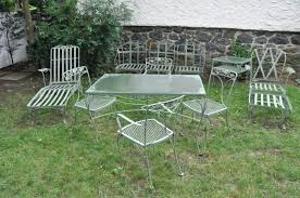 vintage wrought iron garden furniture. Interior: Vintage Wrought Iron Patio Furniture For Sale New Outdoor Style Home Decorations Spots Within Garden O