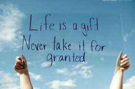 life is what you make it be grateful