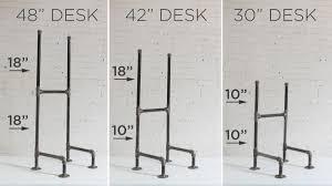 diy standing desk pipe. Modren Standing DIY Standing Desk  Legs Options With Diy Pipe