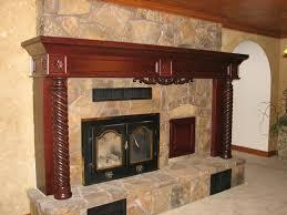 Brick Fireplace Mantel Brick Fireplace Mantel The Fireplace Mantels Decoration