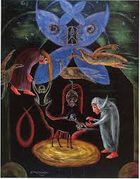 best the art of leonora carrington images  the night of the 8th 1987