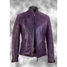 men s jacket immortal couture mens lilac leather biker jacket