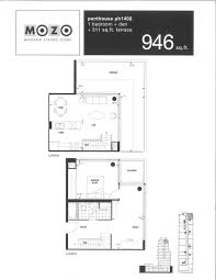 plans mozo 333 adelaide st east mozo lofts floor plan