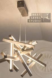 modern wood chandelier led wood chandelier led lamp wood lamp by mid century modern wood chandelier