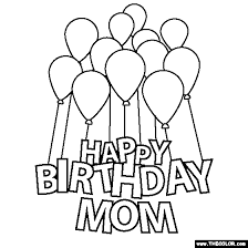 Gorgeous free printable birthday cards in a huge variety of stylish designs! 100 Free Coloring Page Of Happy Birthday Mom Color In This Picture Of Happy Birthd Happy Birthday Daddy Happy Birthday Coloring Pages Birthday Coloring Pages
