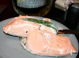 cooked salmon inside. Unique Cooked Sousvidecookingcookeryequipmentturbigommesalmonprobe Intended Cooked Salmon Inside 0