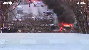 Usa: forte esplosione a Nashville - YouTube