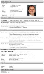 Ejemplos De Curriculum Vitae Zooz1 Plantillas