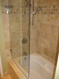 bathroom shower door ideas bathtub shower combo design home depot kohler bathtub doors