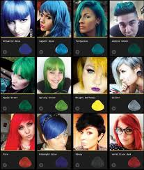 Directions Hair Color Chart La Riche Directions Semi Permanent Hair Dyes Color Care