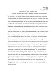 mumh music appreciation unt page course hero 1 pages music history essay 1