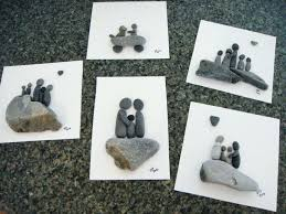 pebble art diy new pieces of pebble art for beach grass waiting to be framed rock pebble art diy