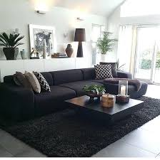 living room ideas black living room dark sofa black couch ideas with color inside the decor