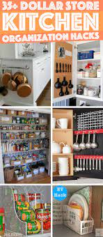 36 Dollar Store Kitchen Organization Hacks You Can Pull Off Like A Child S Play Cute Diy Projects