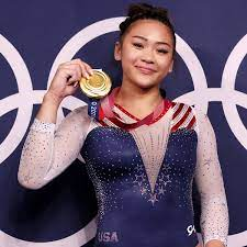 Suni Lee Celebrates Olympic Medals With ...