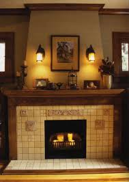 ... Charming Image Of Home Interior Design And Decoration With Various Stone  Fireplace : Endearing Picture Of ...