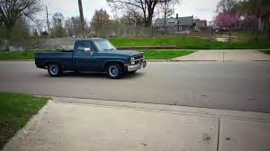 1984 chevy c10 lowered - YouTube