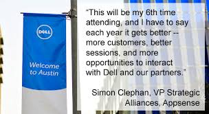 "Emc Quote Gorgeous Second To None"" Technology Partners Gather For The Inaugural Dell"