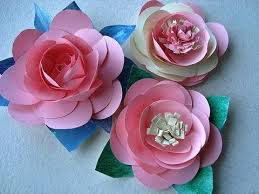 Paper Flower Video Diy Paper Flowers Make A Rose Or Water Lily