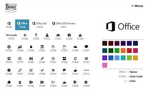 Office 365 Icon Font Documentation Stefan Bauer N8d