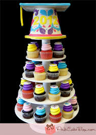 Graduation Cupcake Stands