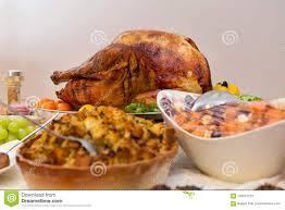 thanksgiving turkey dinner table. Exellent Dinner Bountiful Thanksgiving Table Full Of Appetizing Food For Turkey Dinner E