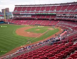 Cincinnati Reds Seating Chart Great American Ball Park Section 412 Seat Views Seatgeek