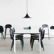 semi pendant by gubi was designed in 1968 as a product of the creative partnership between two architecture students reacting against the cosy era that