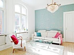 ... Engaging Home Interior Wall Decor With Scandinavian Wallpaper Design :  Classy Picture Of Living Room Decoration ...