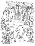 Kleurboek Goudlokje En De Drie Beren Gratis Kleurplaten Printen