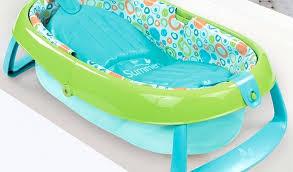 summer infant foldaway baby bath fold away baby bath tub new summer infant green newborn to
