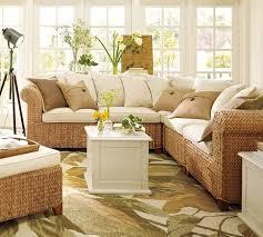 sun room furniture. modren furniture seagrass 5piece sectional  pottery barn sunroom furniturerattan  to sun room furniture
