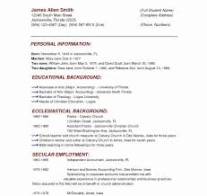 Resume Templates Simple Student Formatsic College Template Blank ...