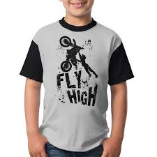 Blk Size Chart Amazon Com Aiw Wfdnn Bikes Fly High Blk Youth Short Sleeve
